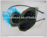 free shipping , 2011 new fashion, feather headband, natural feathers, fast delivery