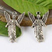 20pcs Tibetan silver ARCHANGEL URIEL charms h1395