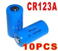 CR123A CR123 CR 123 123A Lithium Battery 3V 1300mAh +Free Shipping