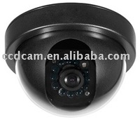 CCTV Black Color Dome  IR Camera, popular case with lower price