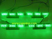 Car styling, Traffic light, Alarm warning  Tow, Truck ,Car Signal Light 4x 9 LED Emergency Truck Strobe Light Green