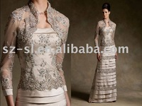 Top Sale Straight Floor Length Mother of the Bridal Dress SL-3445