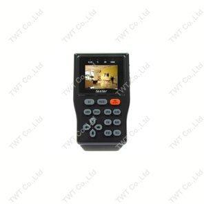 """Portable 2.5"""" TFT Video Audio PTZ UTP Cat5 LAN DC12V CCTV Tester GT02"""