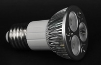 E27 3*2W led spot light;300lm;with 85 to 265V AC Input; large stock; please advise which color you need;P/N:DL-JE27-3*2W-2