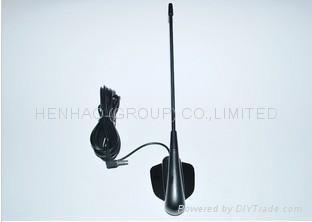car tv antena auto car digital tv antenna Aerial with Amplifier for car dvd tv