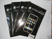 FREE SHIPPING(POST) Mirror LCD Screen Protector for iPhone 3G 3Gs cell phone screen guard