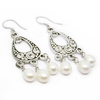 Free shipping ! Wholesale 2010 Pearl jewelry earrings ES4035