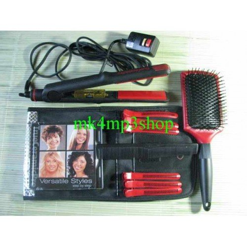 free shipping 8pcs Brand New Trueceramicpro Versatile Styles Hair Straightener Ceramic Irons(China (Mainland))
