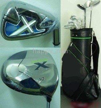New X-22 complete full Clubs(3w + 9I + 1P)&bag + Golf Hat