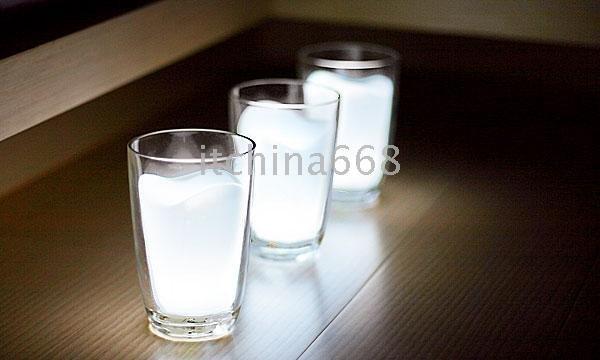20pcs/lot الضوء كوب مصباح، كأس حليب زجاج مصباح حليبي الضوء ليلا أدىمزاج لطيف بقرة الحليب الخفيفة