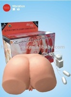 Drop shipping medical soft glue,voice,sex toys for man,vagina,good handfeeling - REALISTIC BODY - GFM-1020 Christmas Gift