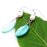 Free shipping ! Wholesale 2010 Pearl jewelry earrings ES4415