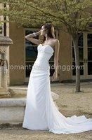 09 Fashion New Beach Wedding dress(any size/color)R9060