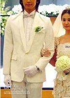 men White wedding dress/Evening dress/Evening party/Formality/Lounge suit/Gentleman/Noble/New/Clothe
