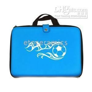 "Freeshipping! 25pcs/lot Blue Carrying Hard Case Bag Cover 10"" 10.1 Laptop Notebook Travel Carrying Handbag for 10"" 10.1 Inch(China (Mainland))"