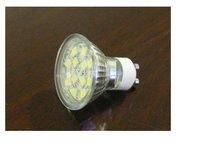 SMD LED Spot light;GU10 base;12pcs 5050 led;144lm;5500K-6000K,cold white