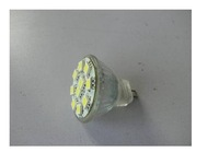 SMD LED Spot light;MR11 base;10pcs 5050 led;120lm;5500K-6000K,cold white