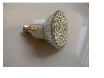 SMD LED Spot light; E14 base;60pcs 3528 led;300lm;5500K-6000K,cold white