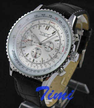 Deluxe AUTO Mechanical 6 Hand Mens Multi Function Watch