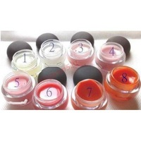 Wholesale - NEW LUSTREGLASS LIP BALM ( 24 PCS/LOT) 8 COLOR