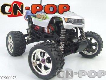 Rc caminhão 4WD carro de corrida elétrico rádio controle remoto MONSTER TRUCKS carro toys1 : 18 escala grátis frete