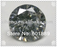 Beautiful round shape 5mm white cubic zirconia stone