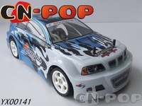 nitro gas RC Car 1:10 Winner 4WD Super radio remote control Racing Car toy free shipping