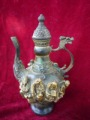 Very rare Ming Dynasty (xuan de1426-1438) Bronze teapot,8 fairy