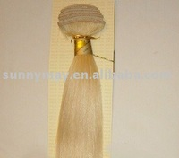 Hand Made Weft Hair Extension 100% Human Hair