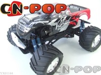 Nitro Gas RC car 28CC double engine 3CH 1:8 4WD car 3-speed Gearbox Monster Mega radio remote control Trucks toy off road truck
