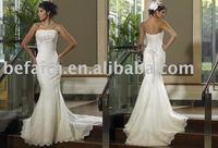 0024 Freeshipping Best Selling Gorgeous Bridal Trumpet /Mermaid Wedding Dresses