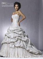 all Size #FFFw7 2010 New Wedding Dress Wedding Apparel & Accessories strapless sleeveless