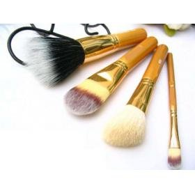 Free Shipping Wholesale Professional 4pcs/set New Arrival make up brushes ( 50pcs/lot )(China (Mainland))