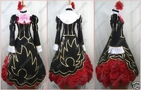 Umineko Golden Witch Beatrice Gown cosplay costume with wig pipe custom made free shipping