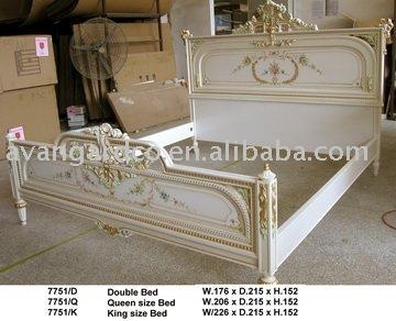 Achetez en gros mobilier ancien chambre blanche en ligne - Lit king size 200x200 pas cher ...