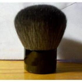 Free shipping!!! Wholesale FACE BRUSH WITH BIG FLUFFY HEAD (20 pc/lot)(China (Mainland))