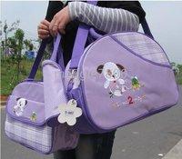 child package Diaper Bags Diaper handbags 3 pack a set 10sets / lot A16 Mummy bag mother