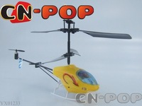 3CH RC Helicopter with LED strobe light Radio remote control helicopters indoor toy free shipping 36pcs/lot