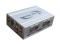DMX512 Controller amplifier & splitter; 1 to 2 DMX distributor