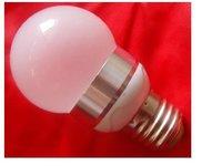 high power led bulb, E27 base;1*1W;cold white,P/N:APO50G-1L