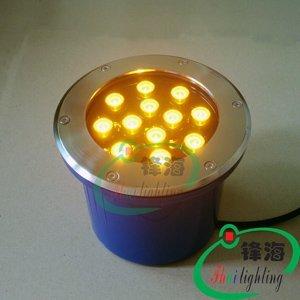 Free shipping wholesale LED underground light,LED Buried lights,LED lamps 12X1W  IP68 Warranty 2 years