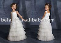 FL-1309 Free Shipping Lovely Flower Girl Dresses