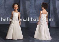 FL-1307 Free shipping Hot Sale A-line  Lovely Flower Girl dress