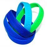 Customized silicone single color bracelet; silicone wristband; promotional gifts; customizing promotional products
