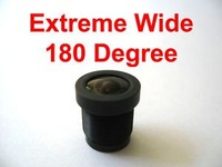 Extreme Wide 180 Degree 1.8mm CCTV Camera Fisheye Len