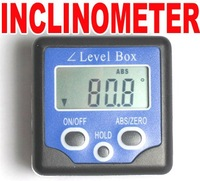 DIGITAL BEVEL BOX GAUGE ANGLE PROTRACTOR INCLINOMETER