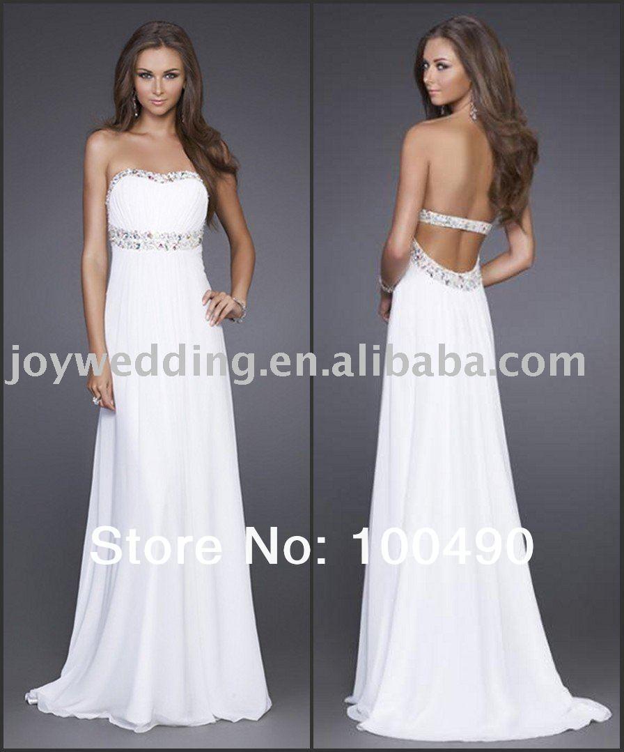 White Formal Dresses For Women