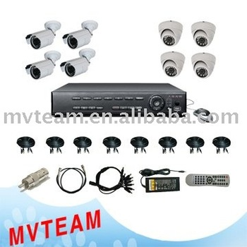 DVR Kit, CCTV camera Kit, CCTV Security system kit with 320GB HDD