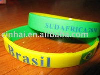 Silicone Bracelet with Colorful Printing, Fast delivery time