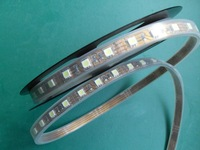 5m(one roll) 5050 SMD 60LEDs/m led strip,waterproof by silicon tubing;RGB color;